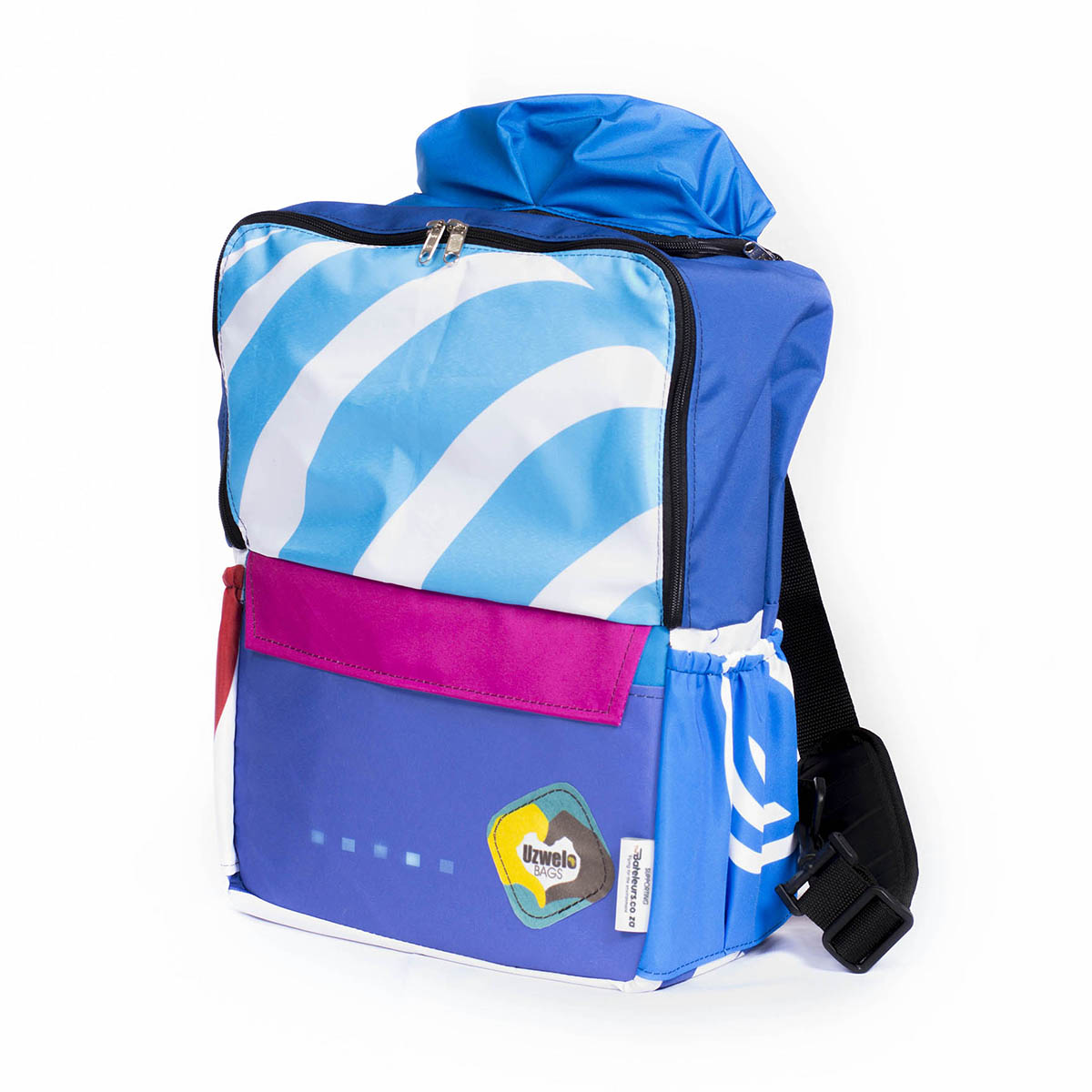 School Back Pack With Poncho