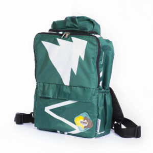 Uzwelo Bags School Back Pack With Poncho