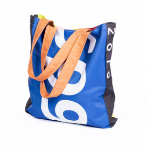 Shopper Bag Flat Plain Handle - Long