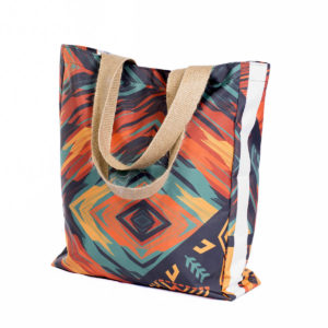 Uzwelo Bags Shopper Bag: Natural Webbing Handle