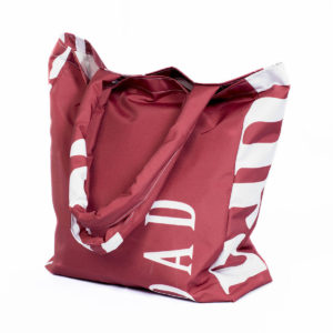 Shopper Bag: Weft Filled Handle