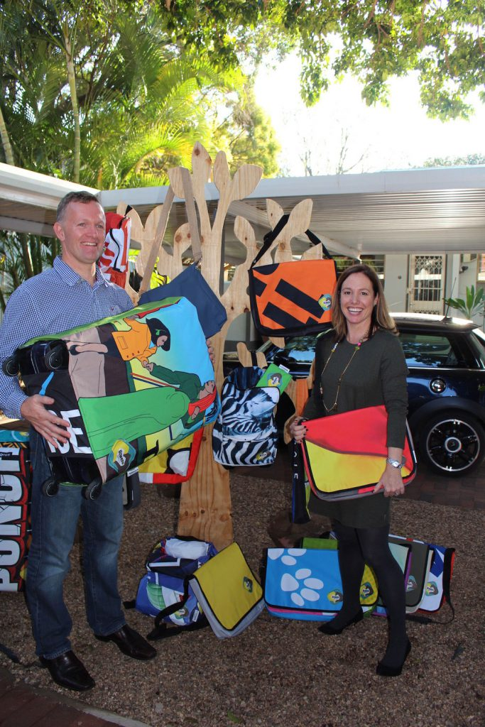 Uzwelo Bags founders Tanya & Donovan Bailey
