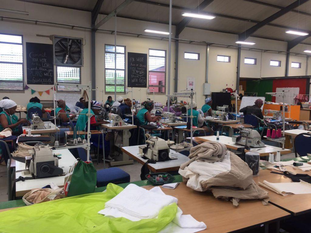 Uzwelo Bags factory