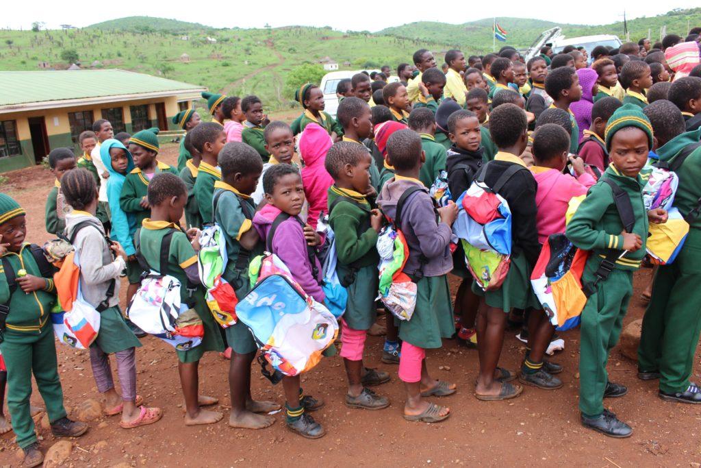 Zululand Rhino Rhide School Bag Handout