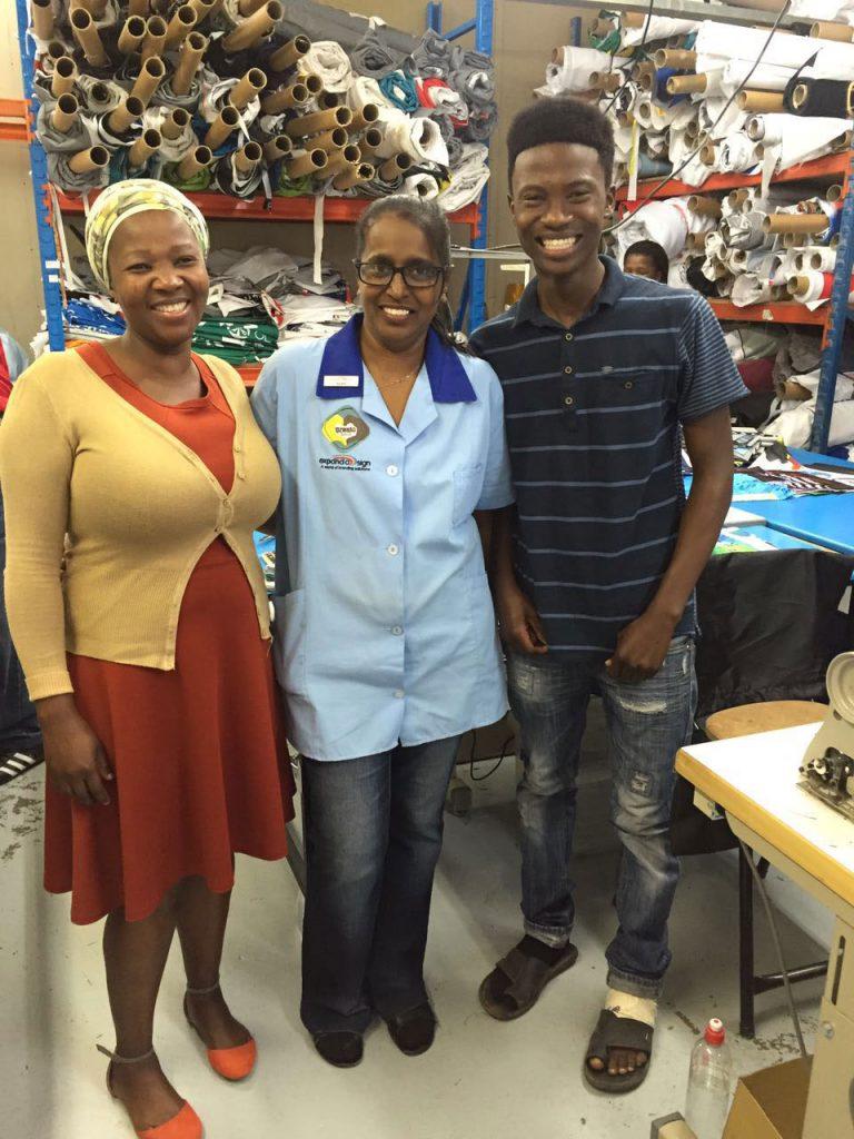 Uzwelo Bags team members