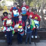 Uzwelo Bags pledging school bags to children affected by the Knysna Fires, Riverwood Primary