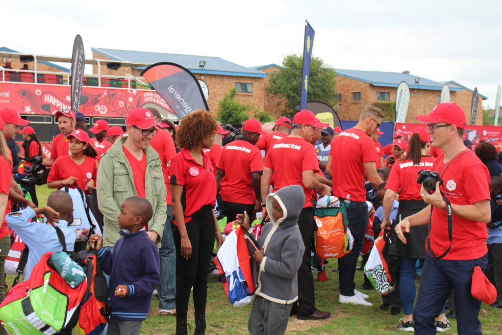 Steyn City School Bag Handout