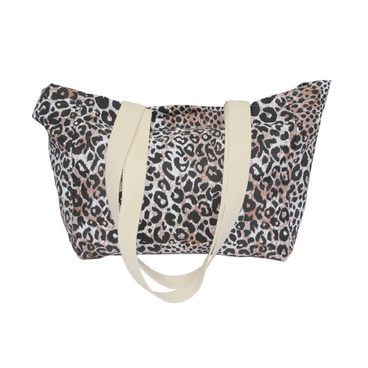 Custom Beach Bag: The Leopard Print - Standard