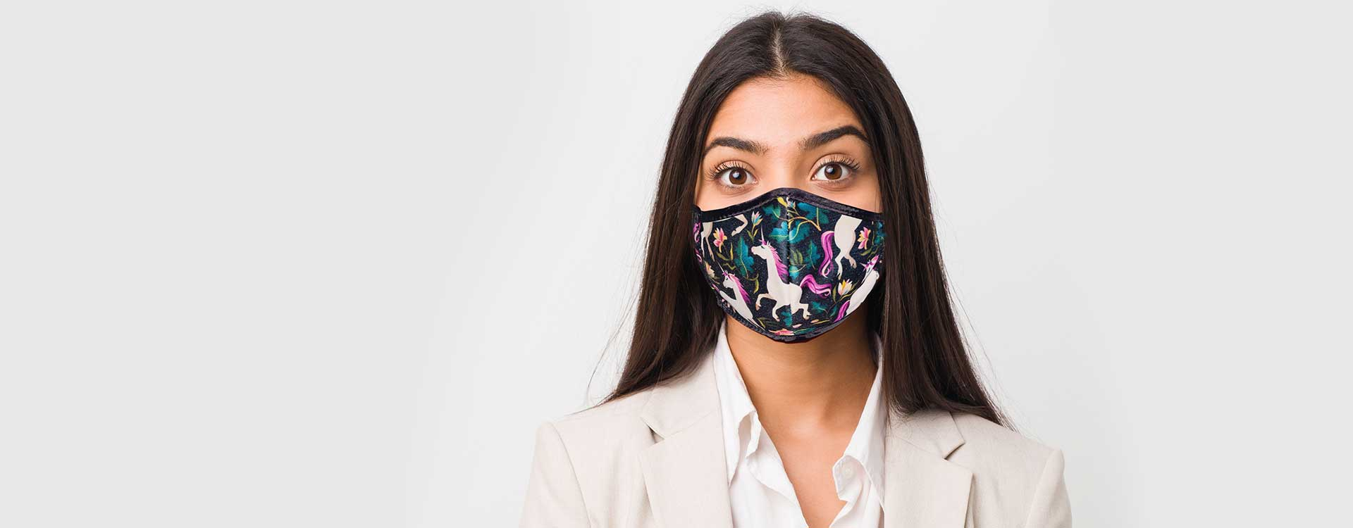 Custom corporate face masks